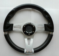 320mm PU flat steering wheel for ATV UTV