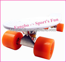 Penny Board Style Plastic skateboard cruiser (CE & ASTM Certificated)