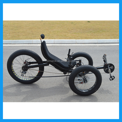 Fashion 24 Speed Recumbent Adult Tricycle