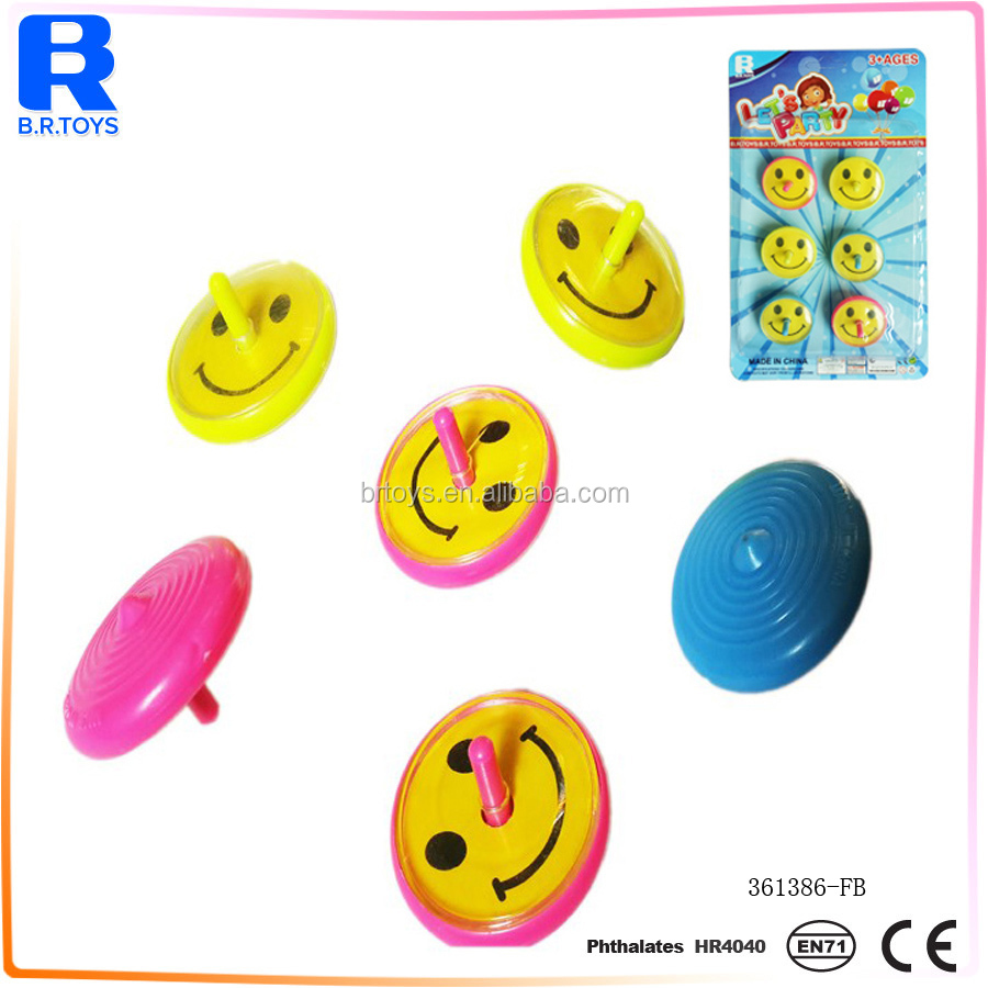 2017 foreign kids game spinning tops toys for sale