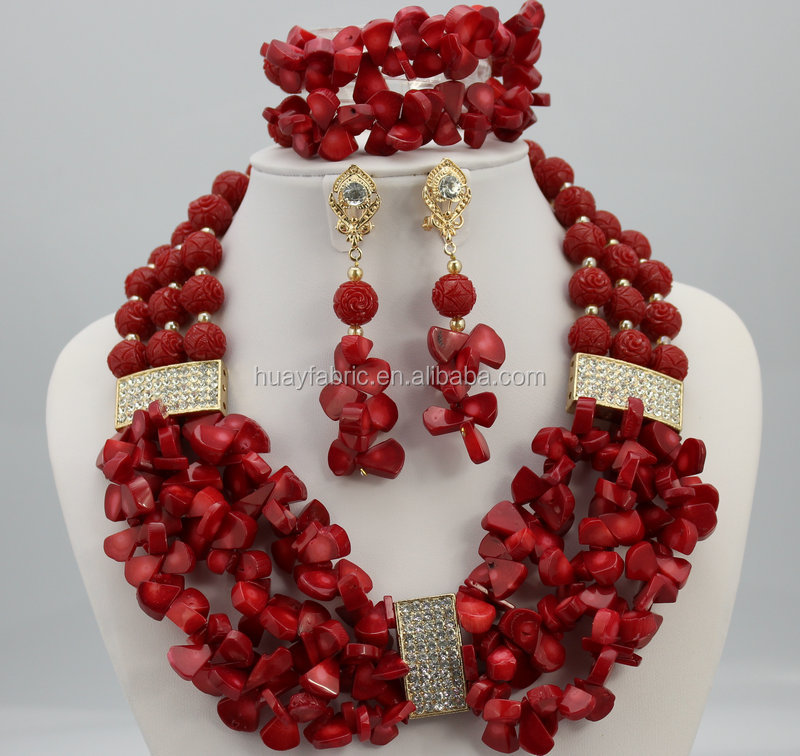 List manufacturers of nigerian coral bead set buy for How to make african jewelry crafts