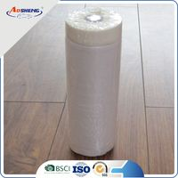 plastic cloth paint functional instant adhesion pre taped masking film