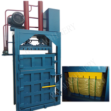 Automatic Hydraulic press packing / fiber baling machine / cotton baler machine