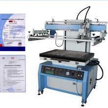 2015 hot sale semi-automatic Plane Surface Screen Printer for PVC t shirt plywood paper, package bag, silicone key press,
