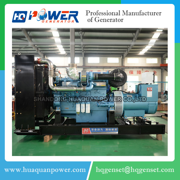china huaquan plant 500kva heavy duty generators price