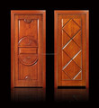 Excellent quality wood front entry door design