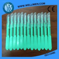 Medical Sterile Plastic Handle Scalpels