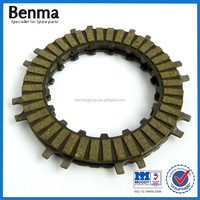 HF 90cc rubber material or paper based motorcycle/Motorbike clutch plate price