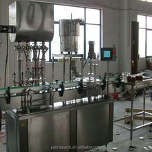 CE standard manufacture sauce glass bottle filling machine