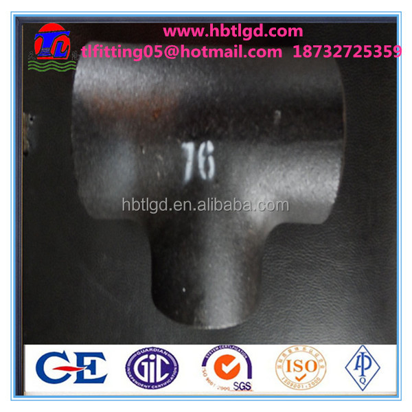 carbon steel pipe fittings/tee/reducer/elbow/bend/cap with reasonable price