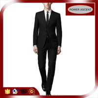 OEM Bespoke 2 Button Classic Fit Black Suits for men