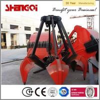 Widely Used China Famous Brand Excavator Hydraulic Rotating Grab