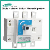 Electric Load Isolating Switch Three Pole 125A,200A,250A,315A