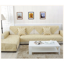 Mercerized cotton quilted embroidery sofa cushion covers