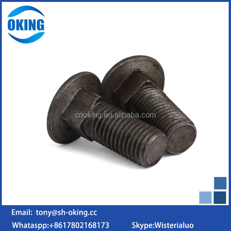 carbon steel Grad 8.8 m3 m4 carriage bolt