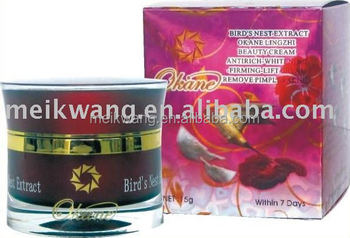 New Okane Bird's Nest Extract Lingzhi Beauty Cream Antirich Whitening Firming Lift Cream Remove Pimples Acnes