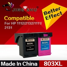 ink cartridge 803XL replacement for HP Deskjet 1112 2132 1111 2131 Printer