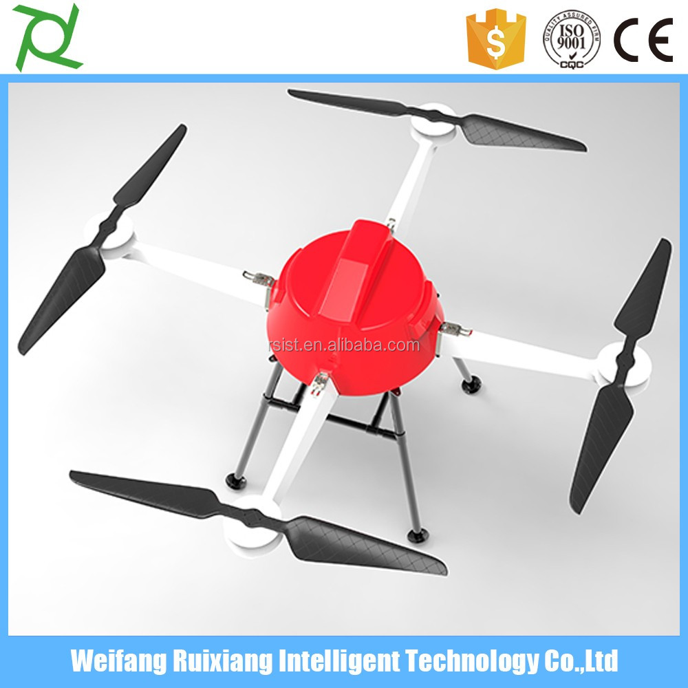 6-rotor 10L tank unmanned drones used for agriculture spraying autonomous flight 15min flying time