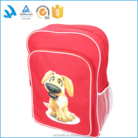 Wholesale Cute dog school backpack, trendy kids girls backpack