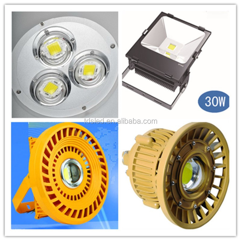 60 Degree 10w 20w 30w High Power Bay Light Led Glass Lens