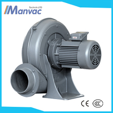 dongguan three phase electric 220V 0.75kw to 7.5 kw plastic welding forward curved centrifugal fans