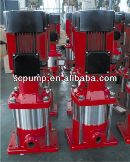 Vertical multistage centrifugal vertical multi stage pump