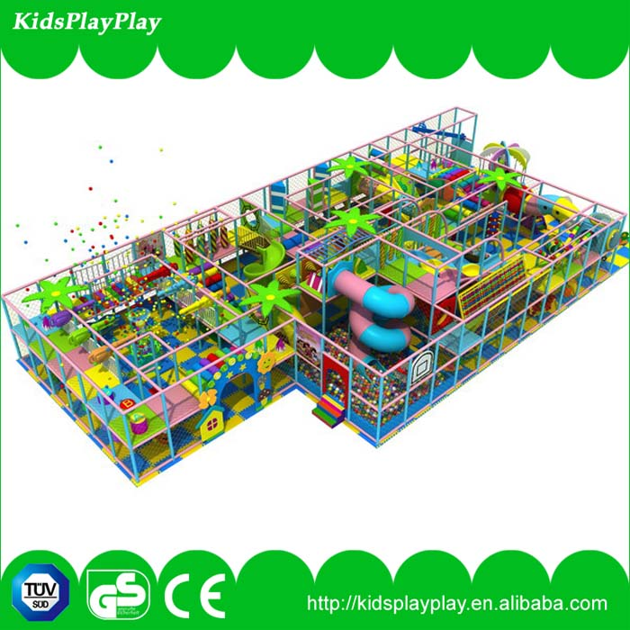 Customized kids used indoor playground equipment sale