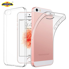 Transparent TPU Shockproof Phone Case Cover For iPhone 5/5s/SE