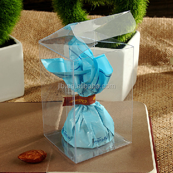 All kinds of hard plastic christmas box packaging with handle