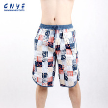 Custom Swimming beach Trunks wholesale with Quick Dry Fabric Material