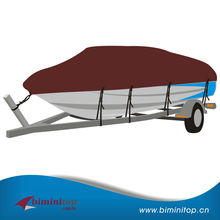 20' 21' 22' Heavy Duty Boat Cover Trailerable Fishing Motorboat 100' Beam
