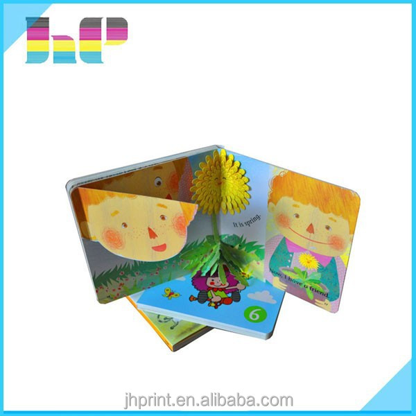 Printing Children Hardcover Board Book On Demand/Shenzhen board book printing