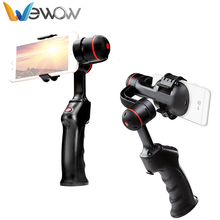 Mutifunctional Go pro compatible wholesale handheld Stabilizer 2-axis Gimbal for iPhone 7/ plus