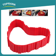 Toprank Home Made Food Grade Reusable Muffin Baking Tray 4 Pcs Baking Silicone Cake Mold Bakes All Cakes In All Shapes