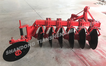 Paddy field disc plough