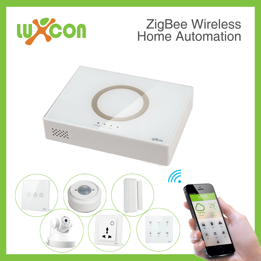 Luxcon home automation Smart Hub, wireless Gateway, wireless remote controller