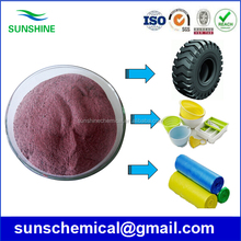 Purple powder cobalt stearate for steel wire radial tire manufacturing