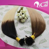 wholesale top quality 100% brazilian remy human hair extension u tip hair