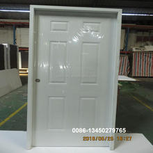 metal interior door with split frame