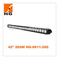 42 inch 260w off road led light bar , waterproof, for 4x4 off road,SUV,4WD,truck certificated with CE,IP67,E-mark,IP68 ROHS