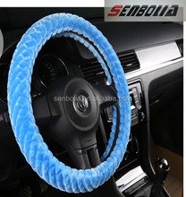 Manufacturer Cheap Price High Quality PVC Leather Universal Fit Sporty Car Steering Wheel Cover best selling auto parts