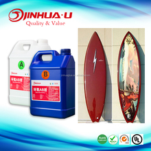 Epoxy Resin For Surfboard,Surf Board Resin Glue ,Epoxy Resin AB glue Used in Composite Material