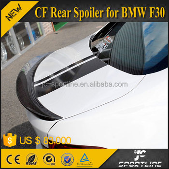 New 3 Series 3D Style F30 Trunk Spoilers Twill Carbon Fiber Spoiler For BMW F30 Sedan 13-14