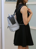 stock available crocodile pattern fashion backpack for girls ladies handbag purses high quality low price