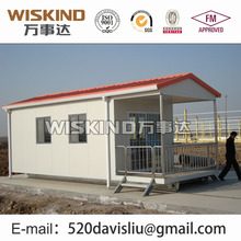 portable house/prefabricated steel structure house/building