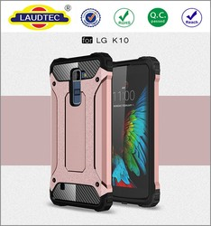 Colorful TPU PC Shockproof Hybrid Armor phone case for LG K10 ------- Laudtec