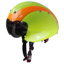 Professional head protective custom aero time trial helmet for sale