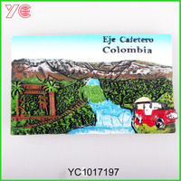 YC1017197 Colombia tourism souvenir fridge mangnet