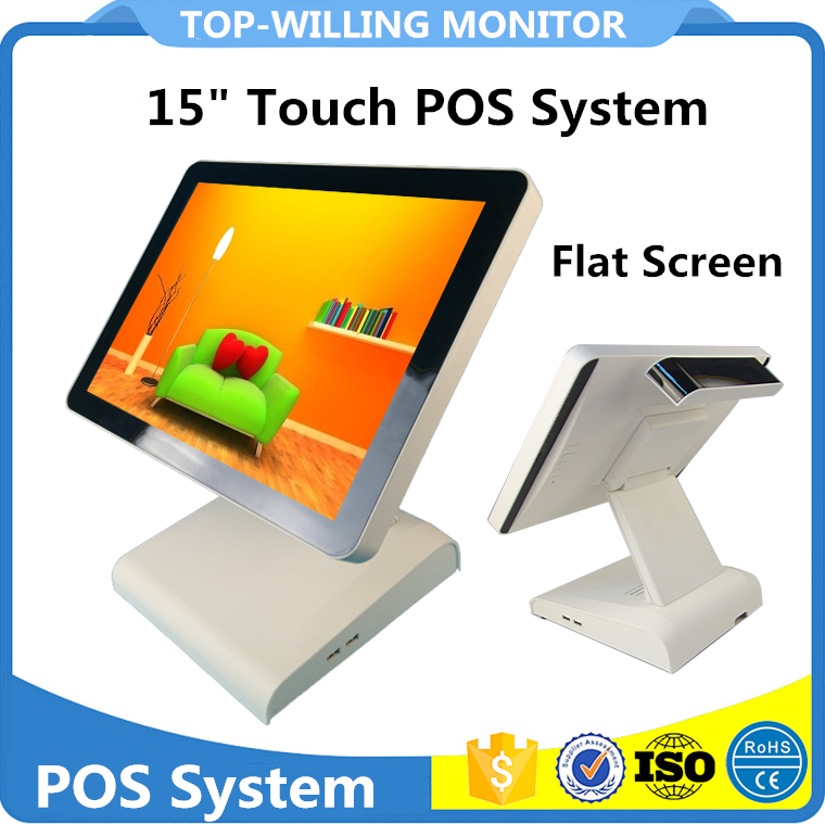 VFD 8E Customer Display 15 inch Touch All in One POS Terminal