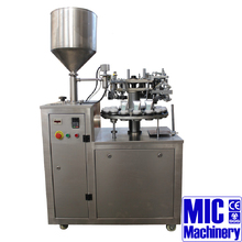 MIC-R30 semi automatic toothpaste tube filling sealing machine plastic tube filling and sealing machine tube filling machine